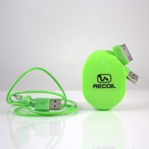 Recoil Winders is the first-of-its-kind cord cleanup product giving consumers a solution to tangled headphones, USB cords, cell phone chargers  and clutter. Recoil Winders' efficient and time-saving retractable design ensures cord protection and organization for homes, offices and people on the go. They come in small, median and large sizes and and are available in 5 colors, as well as available in 3-set combo packs.$9.99