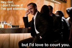 hey girl.... law school - i don't know if i've got standing....