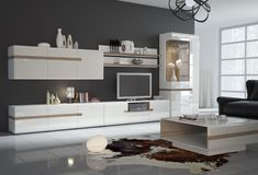Details about Linate 3 - white modern entertainment center / modern tv wall unitabout Modern Entertainment Center, Entertainment Wall Units, Modern Tv Wall Units, Modern Wall, Modern Living, Media Wall Unit, Modern Chest Of Drawers, Living Room Wall Units, Modern Furniture