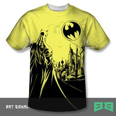 Bat Signal | This officially licensed BATMAN merch is now available at: http://beyondbasick.com/products/bat-signal MORE awesome Batman designs here: http://beyondbasick.com/collections/batman-merch