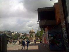Monumento al Libertador, Av. Jiménez, Bogotá-Colombia.