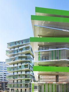 Luftige Nachverdichtung – Sozialer Wohnungsbau in Paris