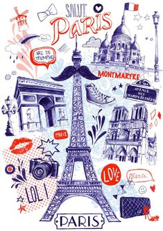 Kai Fine Art is an art website, shows painting and illustration works all over the world. Wallpapers Paris, Paris Wallpaper, Cute Wallpapers, Eiffel Tower Craft, Paris Eiffel Tower, Scrapbooking Paris, Plan Paris, Paris Illustration, Classroom Art Projects