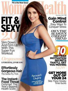 Sexy Parineeti Chopra on Women's Health Magazine JULY 2015 ~ Bollywood Glitz 24 - Hot Bollywood Actress Indian Bollywood, Bollywood Actress, Bollywood Fashion, Parneeti Chopra, Womens Health Magazine, Beautiful Indian Actress, Beautiful Saree, How To Slim Down, Fashion Over 40