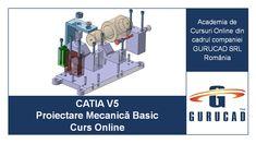 Acest curs online, CATIA V5 Proiectare Mecanică Basic, are la bază modulele Infrastructure, Sketcher, Part Design, Assembly Design și Drafting din CATIA V5, acoperind atât partea de modelare 3D, cât și cea de 2D, și ajută studenții, inginerii și tehnicienii să devină specialiști în proiectarea pieselor mecanice și crearea datelor necesare în CATIA V5 pentru fabricarea pieselor mecanice printr-un proces complet. Prin urmare, acest curs se bazează pe experiență practică și nu pe pură teorie. Contacts Online, Audi, Bmw, Aerospace Engineering, Training Academy, Mechanical Design, Training Courses, Online Courses, Volkswagen