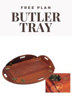 Woodworking Ideas To Sell, Woodworking Guide, Woodworking Furniture, Custom Woodworking, Teds Woodworking, Wood Carving For Beginners, Butler Tray, Cnc Projects, Crafts To Sell