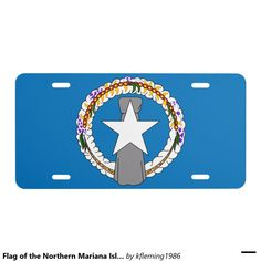 Flag of the Northern Mariana Islands License Plate
