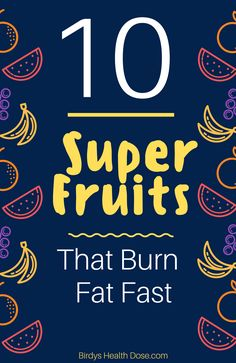 There is the preconceived idea that fruits are forbidden in the diet, as they contain sugar. Well, some fruits can even help you lose weight, despite the fructose content. Here you have 10 Super Fruits that help you lose fat fast.