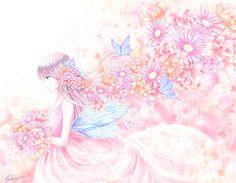 「FAIRY (妖精)」/「紫乃(Shino)」のイラスト [pixiv]