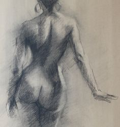 naked female sketches realism - Google Search