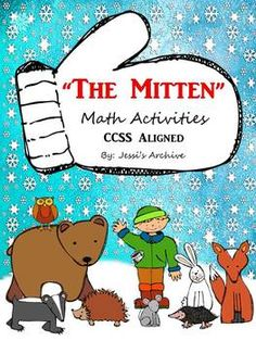 """#TheMitten: 45 pages - Extend the fun of the famous story """"The Mitten"""" through these creative and engaging activities. This includes Math activities, worksheets, task cards, and more which will help your students meet the Common Core State Standards."""