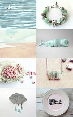 Softly the sea by Heather on Etsy--Pinned with TreasuryPin.com