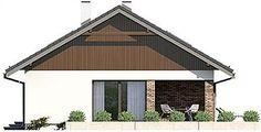 Projekt domu Endo 3 187,85 m2 - koszt budowy - EXTRADOM Home Fashion, Gazebo, Shed, Outdoor Structures, Cabin, House Styles, Attic, Outdoor Decor, Home Decor