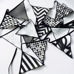 Black & White Theme Party In A Tote by WonderfulCollective on Etsy