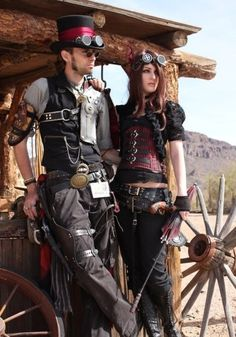 red steampunk men clothing - Google Search