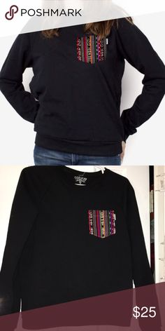Serengetee Pocket Crew Sweater Size small, like new, perfect condition Sweaters Crew & Scoop Necks