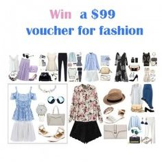 win a $ 99 voucher for fashion ^_^ http://www.pintalabios.info/en/fashion-giveaways/view/en/3392 #International #Fashion #bbloggers #Giweaway