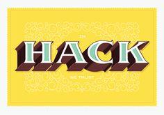 A poster Ben Barry designed at a recent Facebook hackathon.