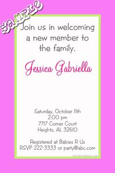 Baby Shower Invitations ANY COLOR Scheme Get these invitations RIGHT NOW. Design yourself online, download and print IMMEDIATELY! Or choose my printing services. No software download is required. Free to try!