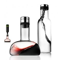 Menu Wine Breather and Water Bottle Set