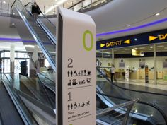 Why is wayfinding important for a mall? Wayfinding Signage, Signage Design, School Signage, Visual Design, Sign System, Shopping Quotes, Shop House Plans, Shop Icon, Digital Signage