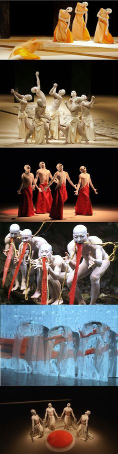 Butoh (舞踏 Butō) is a form of Japanese dance theatre that encompasses a diverse range of activities, techniques and motivations for dance, performance, or movement.