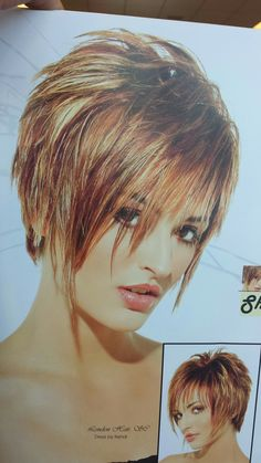 Pin on Diy hair highlight Funky Short Hair, Super Short Hair, Short Hair Cuts For Women, Short Hair Styles, Short Sassy Haircuts, Haircuts For Fine Hair, Funky Hairstyles, Choppy Hair, Hair Romance