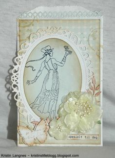 Kristins lille blogg: Pastel posekort