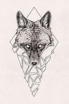 Fox Shard | by Peter Carrington
