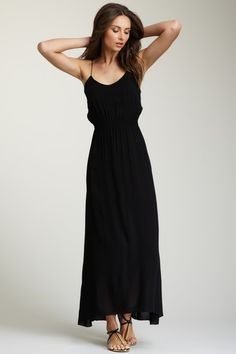 Solid Karine Long Dress on HauteLook - perfect for a vacay, running errands, the pool, pretty much anything!