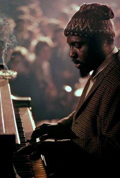 Thelonious Monk by Burt Glinn