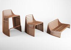 Cadeira alta de madeira Cadeira alta - VIDAME CREATION