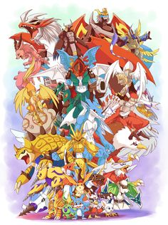 Digimon Adventure 02 <3