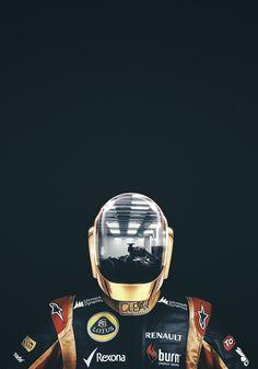 Daft Punk / Lotus should be a replacement for Maldonado , probably score more finishes Music Film, Music Icon, Daft Punk Poster, Thomas Bangalter, Lotus F1, Electro Music, Music Artwork, Punk Art, Art Pictures