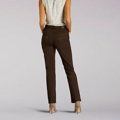 Lee Women's Classic Fit Vivian Straight Leg Jeans (Size 18 Slim)
