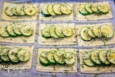 Antipasto, Tapas, Puff Pastry Recipes, Cordon Bleu, Finger Foods, Zucchini, Cake Recipes, Buffet, Vegetarian Recipes
