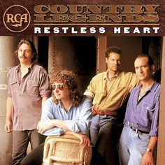 Restless Heart - Rca Country Legends music CD album at CD Universe, enjoy top rated service and worldwide shipping. Country Bands, Country Music, Legend Music, Restless Heart, Cd Cover Art, Bmg Music, Me Too Lyrics, Cd Album, Music Albums