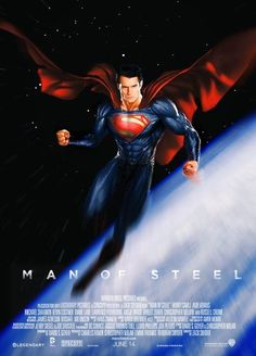 My Man Superman: Henry Cavills Superman Takes Flight In Excellent Man Of Steel Fan Made Poster