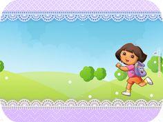 Montando minha festa: kit festa grátis Dora a aventureira