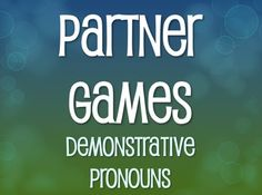Are you looking for ways to get your kids interacting in partners or small groups? Then this is for you! This package has three games in one! I've designed one playing board that can be used for three different games:Vocab/Verb Soup (groups of 2, works on listening skills)Connect Four (groups of 2-4, works on writing skills)Toss and Tell (groups of 2-4, works on speaking skills)Toss and tell requires dice, vocab/verb soup has the teacher calling the prompts, and connect four pretty much…