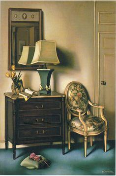 Tamara de Lempicka: Chambre d'hotel, 1951.