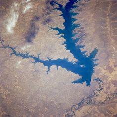 Fort Peck Lake via NASA