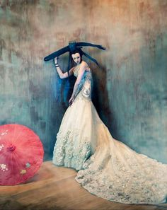Tim Walker for W - The Tim Walker for W magazine series is a brooding collection of geisha portraits. Each photograph boasts remarkable composition and rich artistic ...