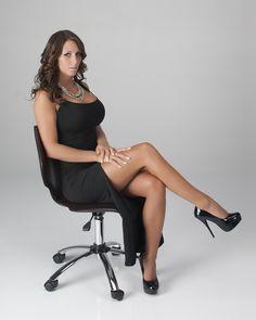 Black dress wih heels