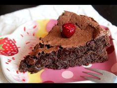 Tarta de chocolate (sin gluten y sin lactosa) | Cocina