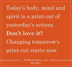 Today is the day! #Quotasm #UnDiet #Inspiration #healthwashing