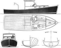 Lobster Boat Plan - Build a boat with your kids (in the barn)