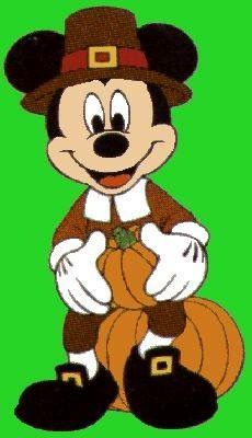 Mickey Mouse - Happy Thanksgiving