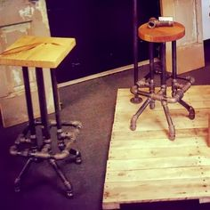 how to mitre cut a stool legs