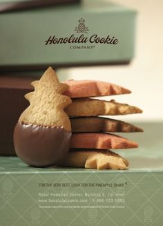 All I want for Hanukkah/Christmas is the Pearl Green Tin filled with these to arrive at my doorstep.  My absolute favorite!  Honolulu Cookie Company